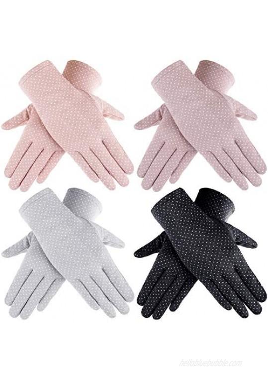 Women Sun Protective Glove Summer Touchscreen Glove UV Protection Gloves