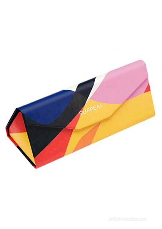 Glasses Case for Women with Cloth in Designer Pattern