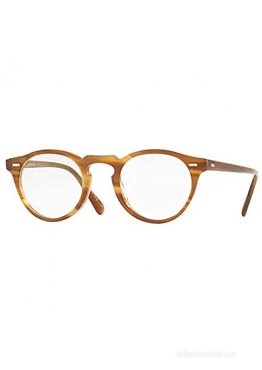 Oliver Peoples 5186 Men's Gregory Peck Raintree Oval 45mm Eyeglasses  45/23/150