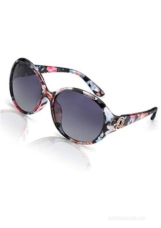FIMILU Oversized Polarized Sunglasses for Women  100% UV400 Protection Fashion Retro Anti-Glare HD Ladies Eyewear