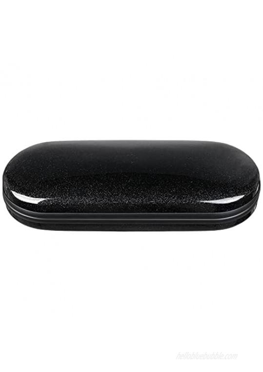 Vemiss Hard Shell Eyeglasses Case Bright Portable Case for Women Men
