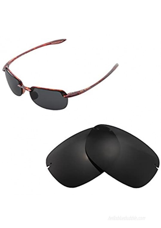 Walleva Replacement Lenses for Maui Jim Sandy Beach Sunglasses - Multiple Options Available